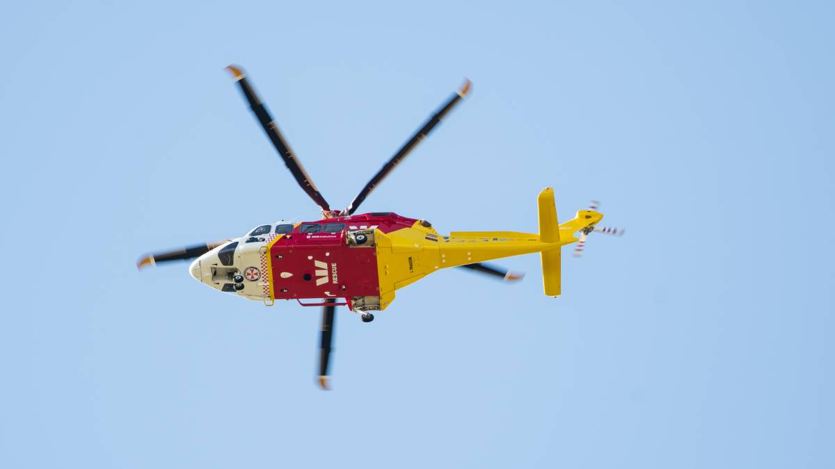 Young man airlifted from Moree to Tamworth on Saturday