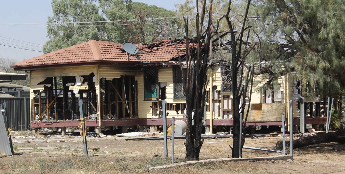 BLIGHT: There are currently 56 burnt-out dwellings across the Moree Plains Shire. Photo: file